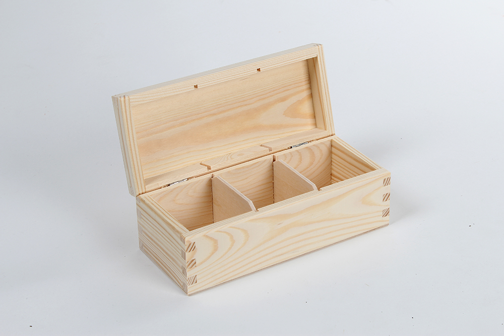 wooden box for tea H03