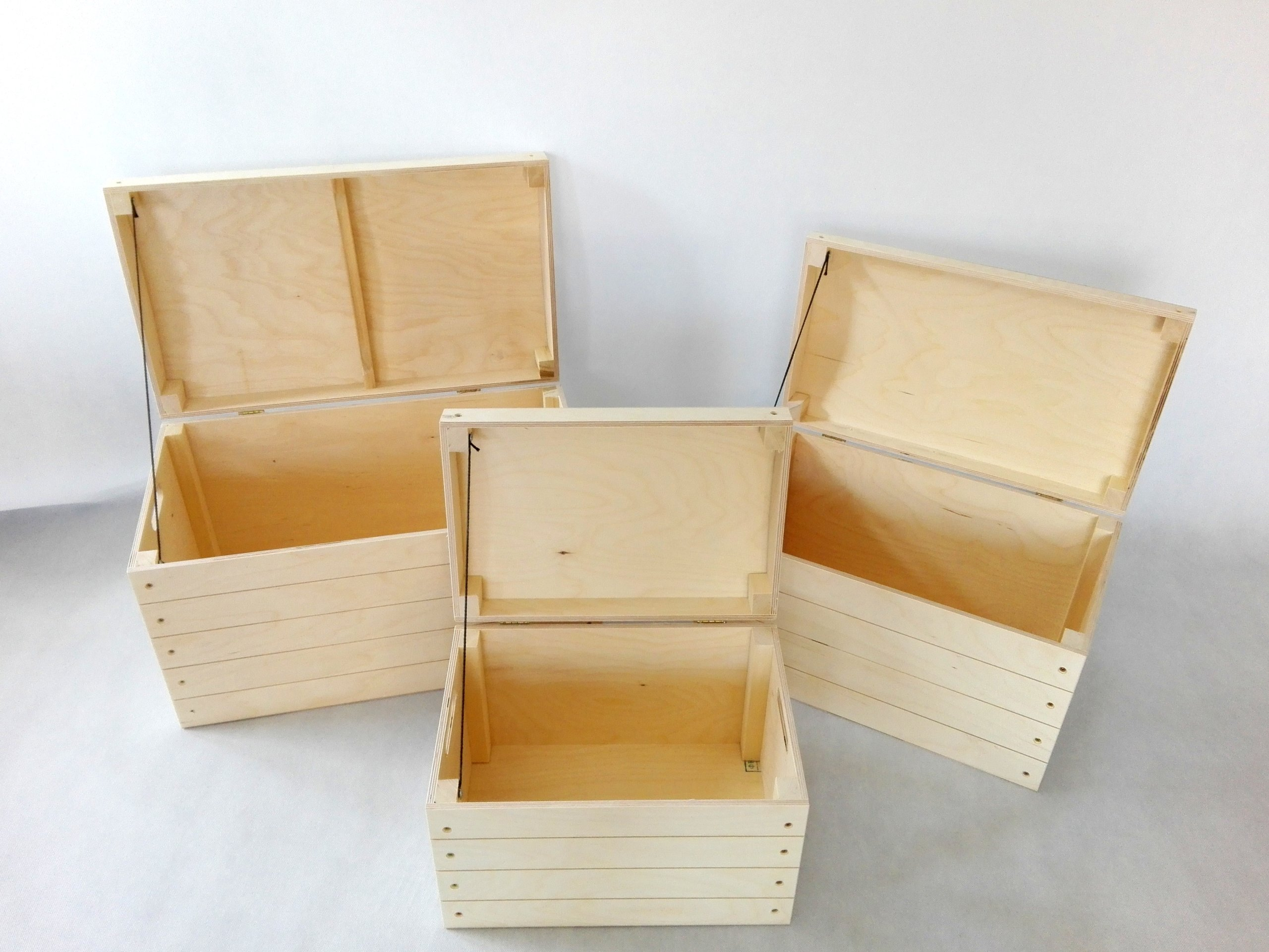 Set of 3 trunks