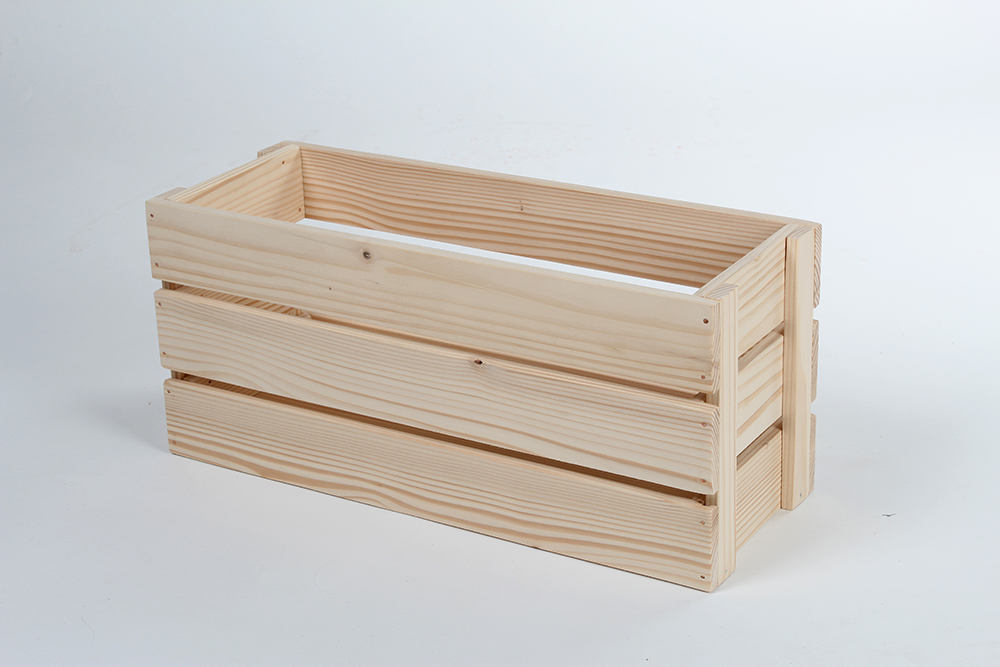 Wooden box for flowers SK02