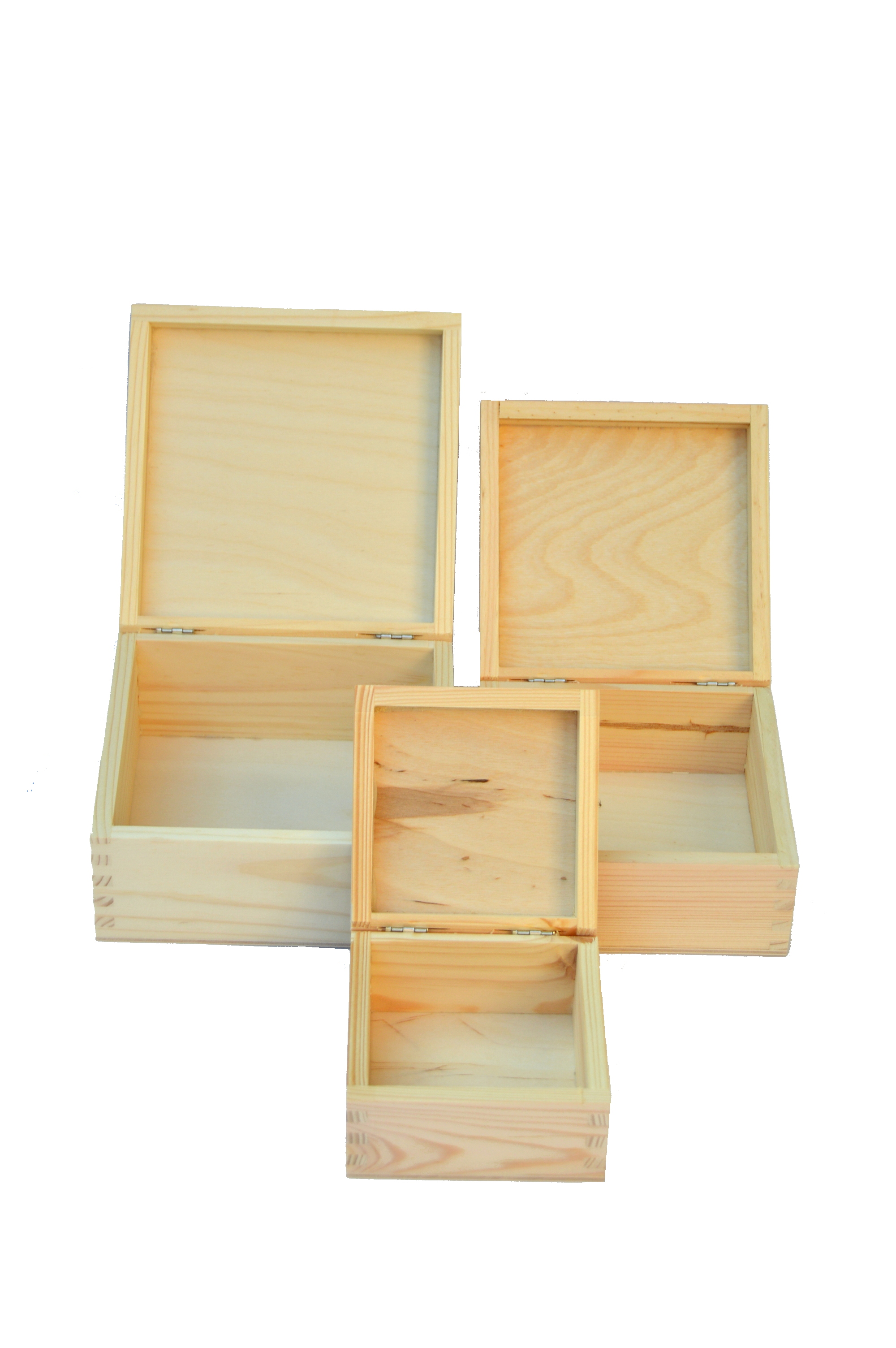 Wooden box 3in1 set