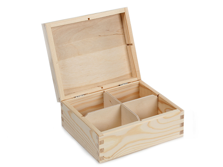 Wooden box for a tea H04